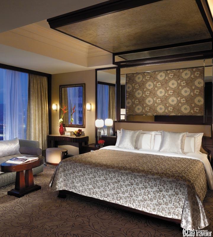 深圳福田香格里拉大酒店 Futian Shangri-La, Shenzhen:酒店身居福田區一座40層玻璃塔樓內,內部以明快的...