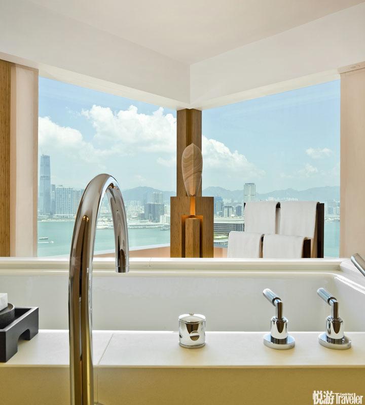 奕居 The Upper House:新生代设计翘楚傅厚民的酒店处子秀,以超然的空间尺度和幽谧的私宅氛围与香港的高...