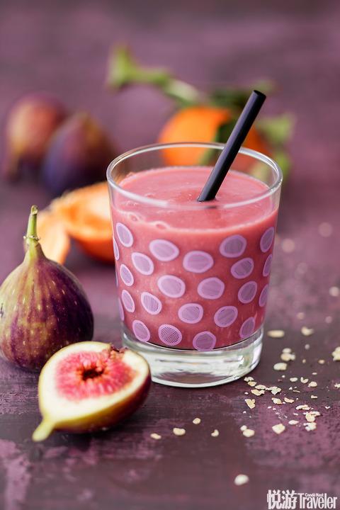 无花果柑橘冬日特饮