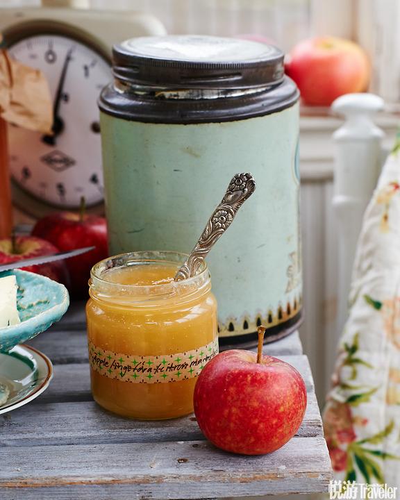 加了姜的苹果柠檬酱