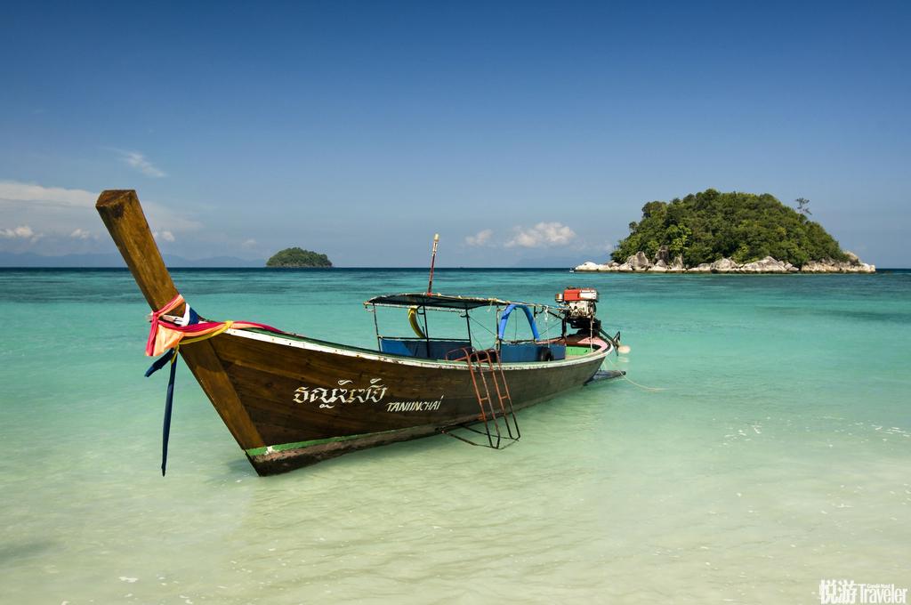 """丽贝岛(Koh Lipe)号称""""泰国马尔代夫""""的丽贝岛,据说那里海水像宝石一样,沙滩像面粉一样,小鱼像星星..."""