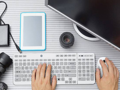 E-ink新运用:可触式键盘
