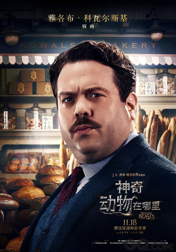 《神奇动物在哪里》中文角色海报
