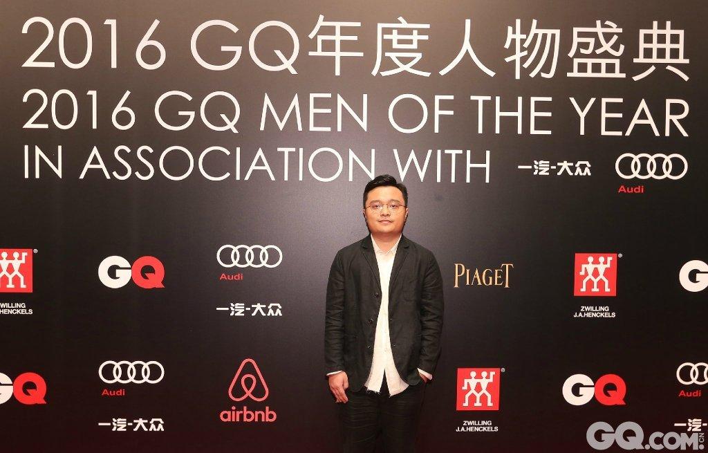 导演毕赣出席2016GQ年度人物盛典。