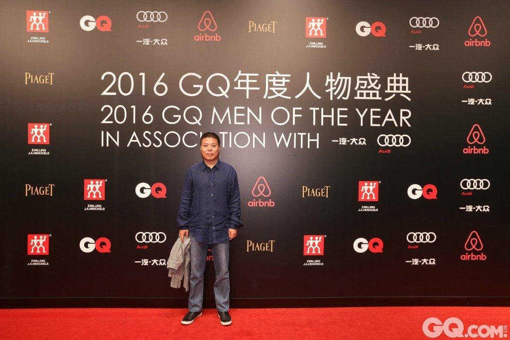 杨葵出席2016GQ年度人物盛典。