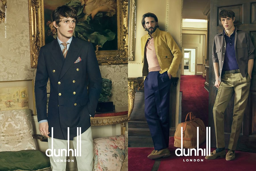 dunhill 2015春夏广告大片
