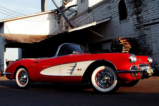 雪佛兰克尔维特c1 汽车历史上的一颗璀璨明珠