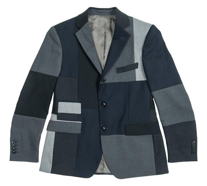 WOOSTER + LARDINI 拼貼羊毛西服外套  (連卡佛獨家)¥8,900  這款西服外套設計充滿玩味,不同顏色組合出和諧格調,融合精準利落的出色剪裁,優雅大方而又不失正式感,不妨搭配同系列的九分西服褲,展現男士瀟灑帥氣的個性風尚。