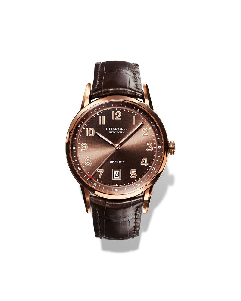 李治廷佩戴Tiffany CT60系列腕表