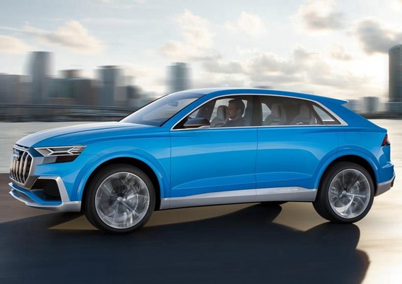 Q8 Concept可以理解成为Q7为基础打造的SUV旗舰级产品,架构同样源自于MLB平台,并拥有柴油汽油两个版本。车身上的e-tron字样则表明了其配备混合动力配置选项。当然Q8也有机会与A8一样搭载相同的高科技装备,包括48V的电力供应系统和自动驾驶辅助系统。