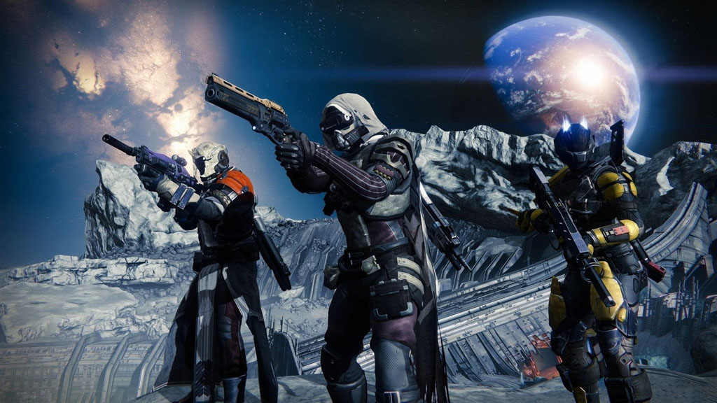 NO.5命运2 作为今年最受期待的射击游戏之一,《命运2》也出现在了发布会上,同时Bungie公布了PS4版独占的副本、装备、载具、武器和PvP地图等。故事的主要内容是到太阳系去探索未知世界。