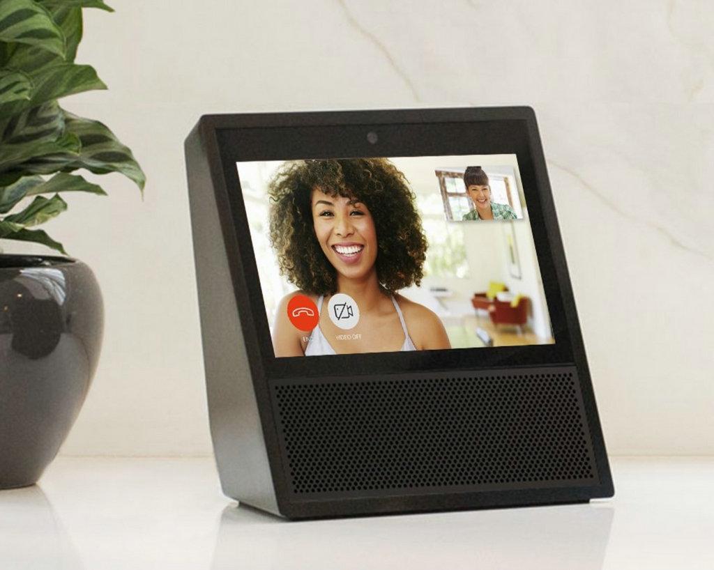 NO.6 除了提供语音服务,Amazon Echo还提供了Amazon Echo Show的影像产品服务。
