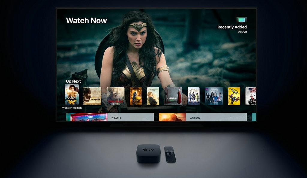 其次,新发布的Apple TV 4K 支持 4K 和高动态范围 (HDR) 显示,无论在黑暗还是明亮的场景下,所呈现的图像都极为锐利清晰,色彩更加生动丰富,细节也越发精致细腻。