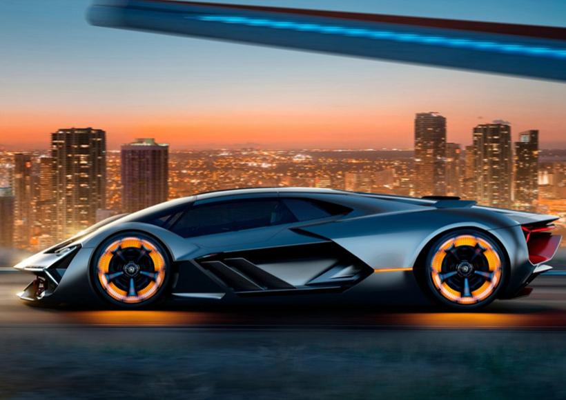 Lemborghinl和麻省理工学院的此次合作,从一开始就注定了Terzo Millennio Concept将有着不凡脱俗的设计感和材料使用。