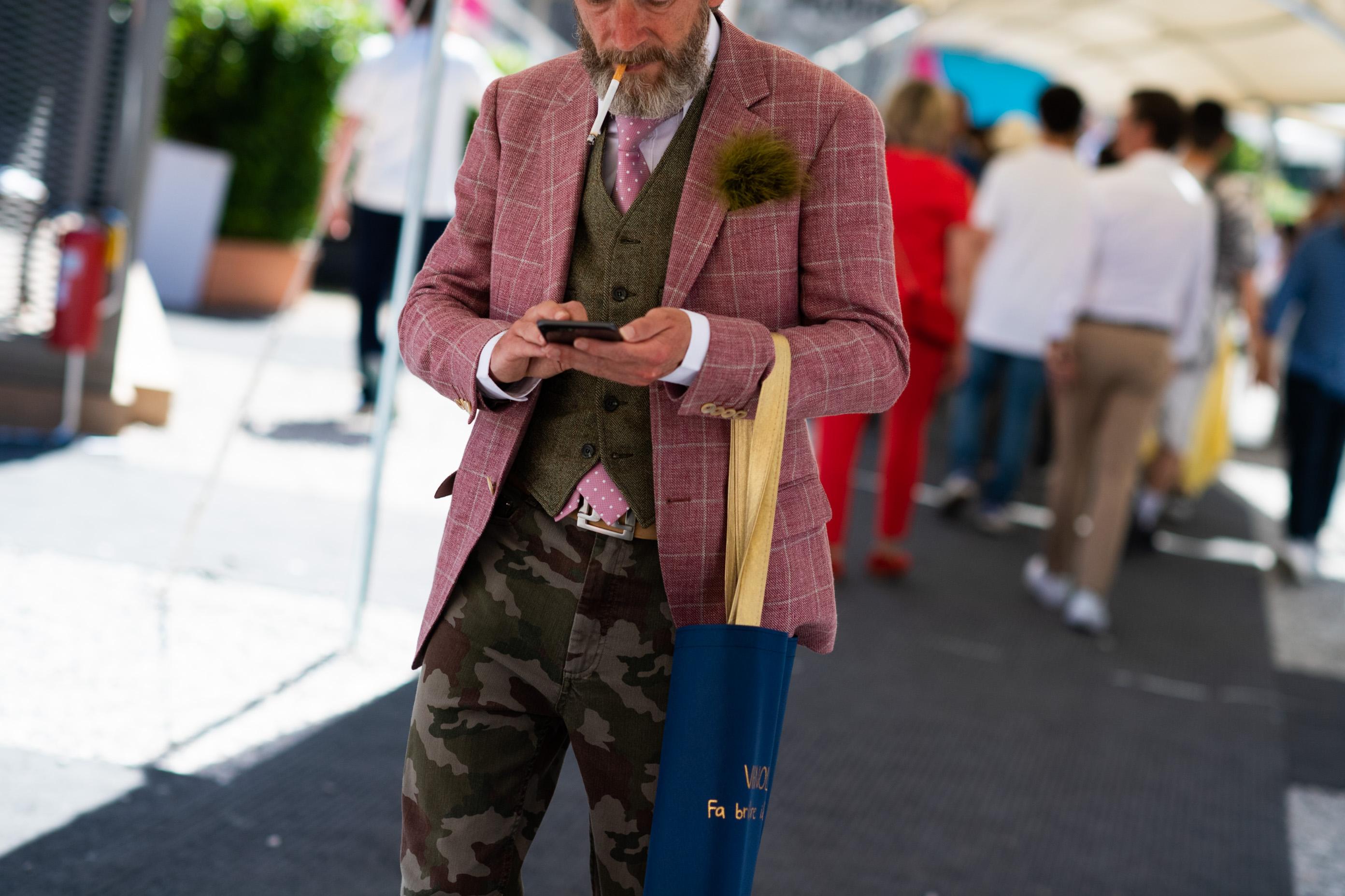 2019年6月佛罗伦萨男装周街拍DAY3