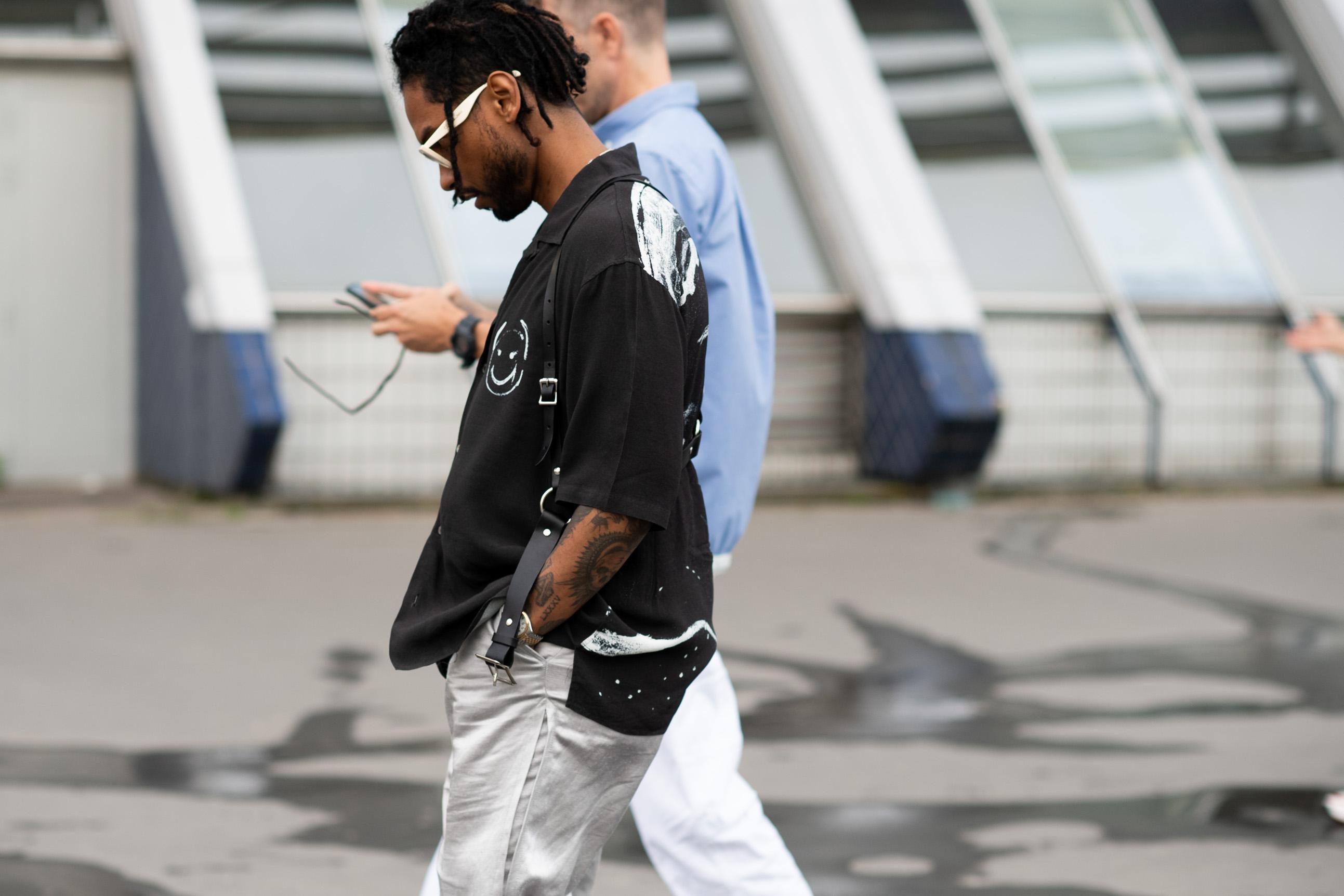 2019年6月巴黎男裝周街拍DAY1——2