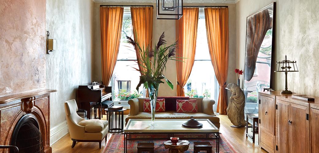 艺术家谷文达娶了美国设计师老婆,他们的家会是什么样?