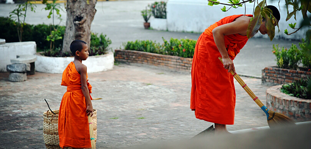 在琅勃拉邦,随我们一起推开安缦创始人私家别墅的大门