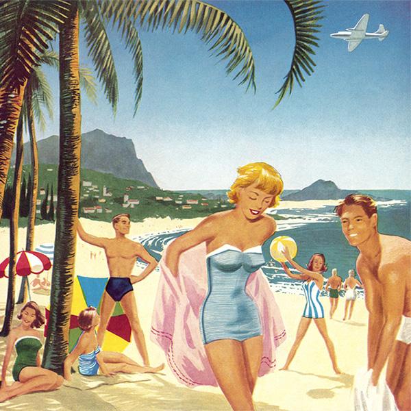 """""""好色之徒""""的海滩选择"""