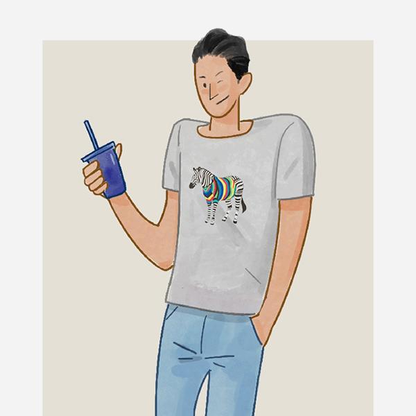 漫画一周 我猜你30度天只穿T恤?