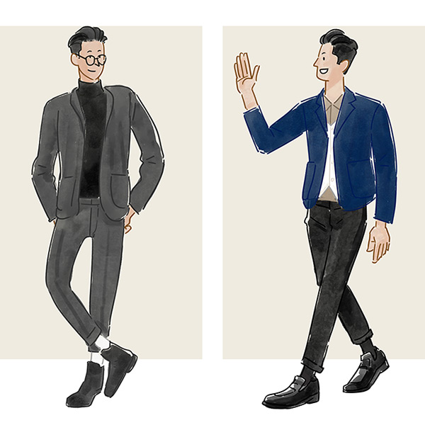 漫画一周 用灰色定义秋装