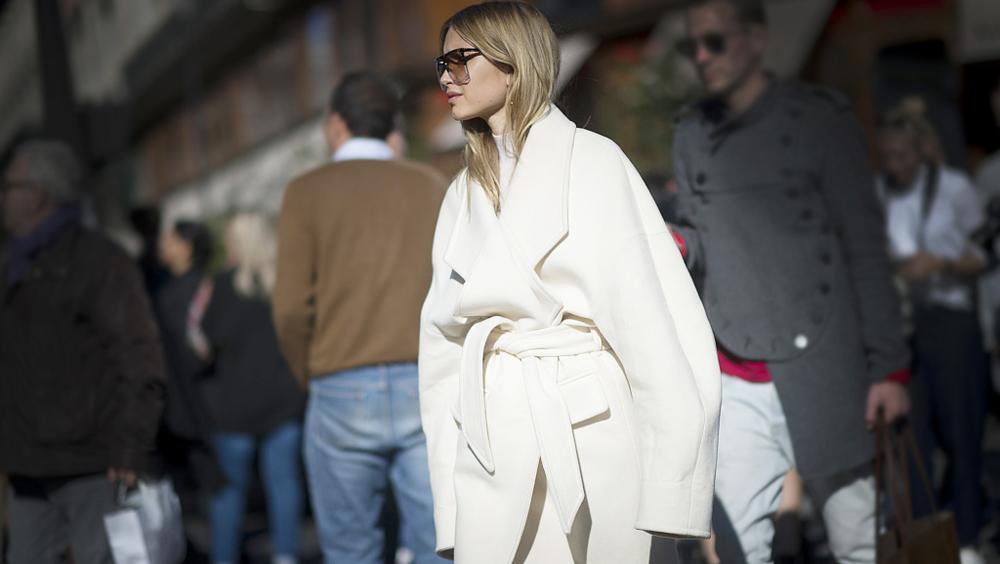 这个冬天,没有一件乳白色大衣你会错过什么?
