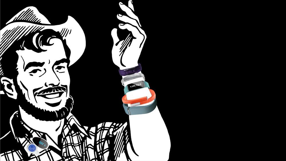 让这17款最受欢迎运动手环 成为你的时尚配饰
