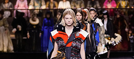 #SuzyPFW: Louis Vuitton Sweeps Across History