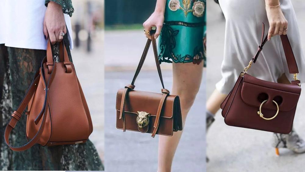 """棕色手袋 不就是包包界的""""小白鞋""""吗?"""