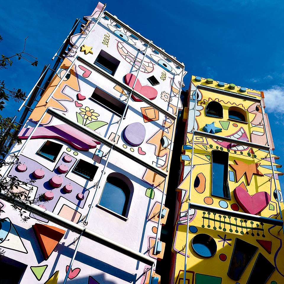披花衣的建筑 Artistic Layers