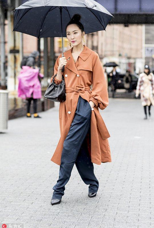 2018秋冬纽约时装周街拍Day5