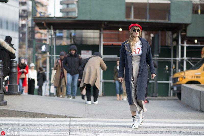 2018秋冬纽约时装周街拍Day6