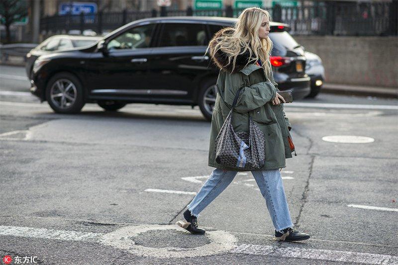 2018秋冬紐約時裝周街拍Day9