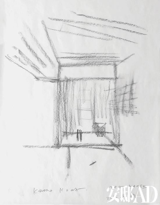 室内手绘线稿小物件