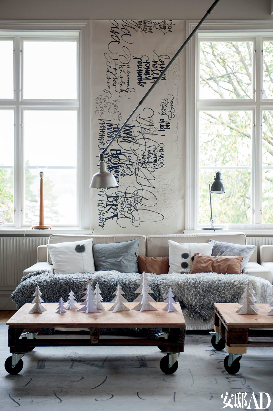 一组沙发手绘图