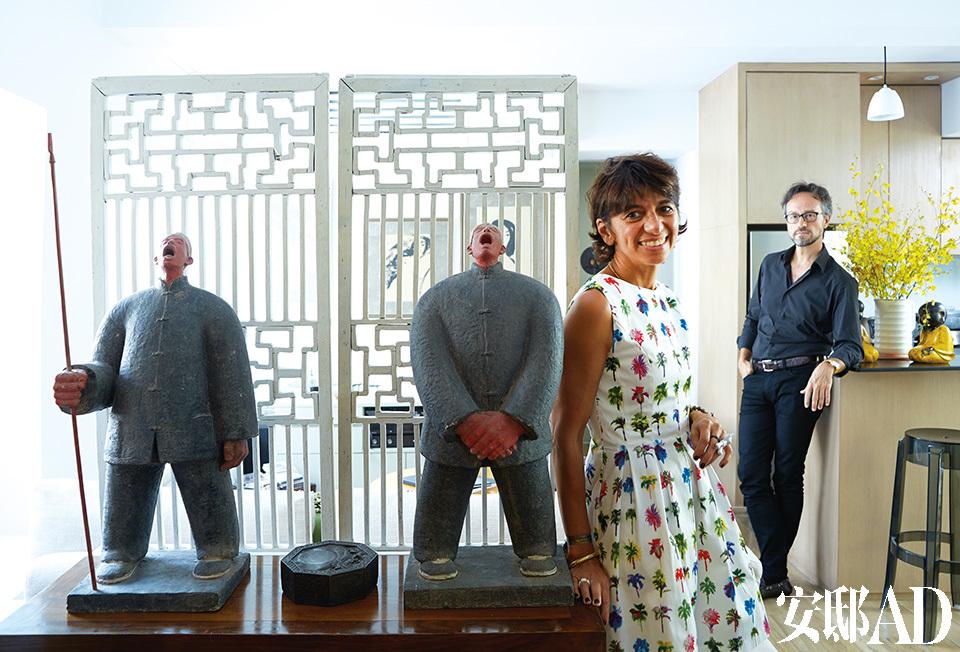 主人: 玛丽·海伦娜·普莱沃(Marie-Helene Prevot)和建筑师: Stefano Tordiglione