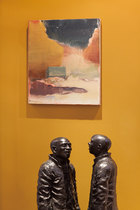 """"""" 艺术不仅仅是投资,我们的生存离不开艺术,连呼吸的空气里都流淌着艺术的味道。"""""""