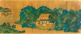 夜静春山空 Buddhist Bliss