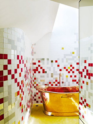 低成本巧铺花砖 Tile Style