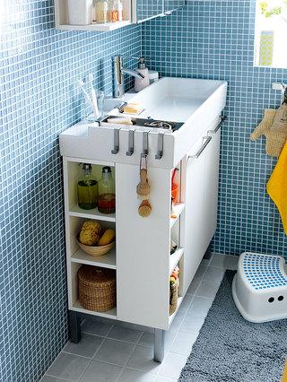 挖掘浴室收纳潜能 Stylish Storage