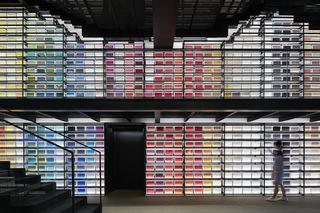 长堤空间视觉——面料图书馆