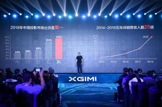 极米发布3款新品,多项创新技术首次亮相投影
