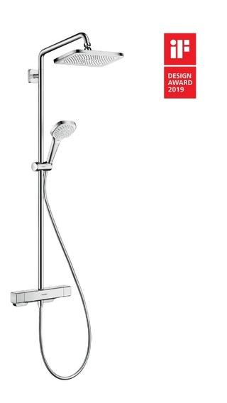 家庭浴室全能选手——汉斯格雅柯洛玛E淋浴管套装上市