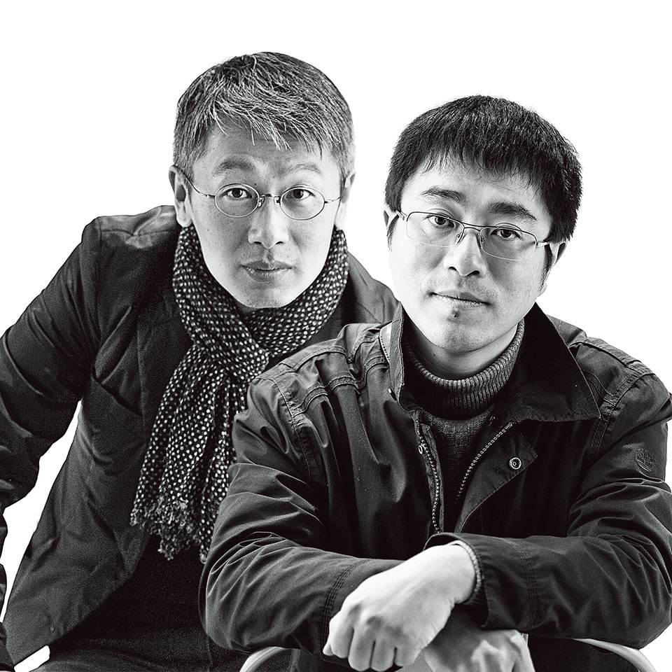 柳亦春(左) 陈屹峰(右)