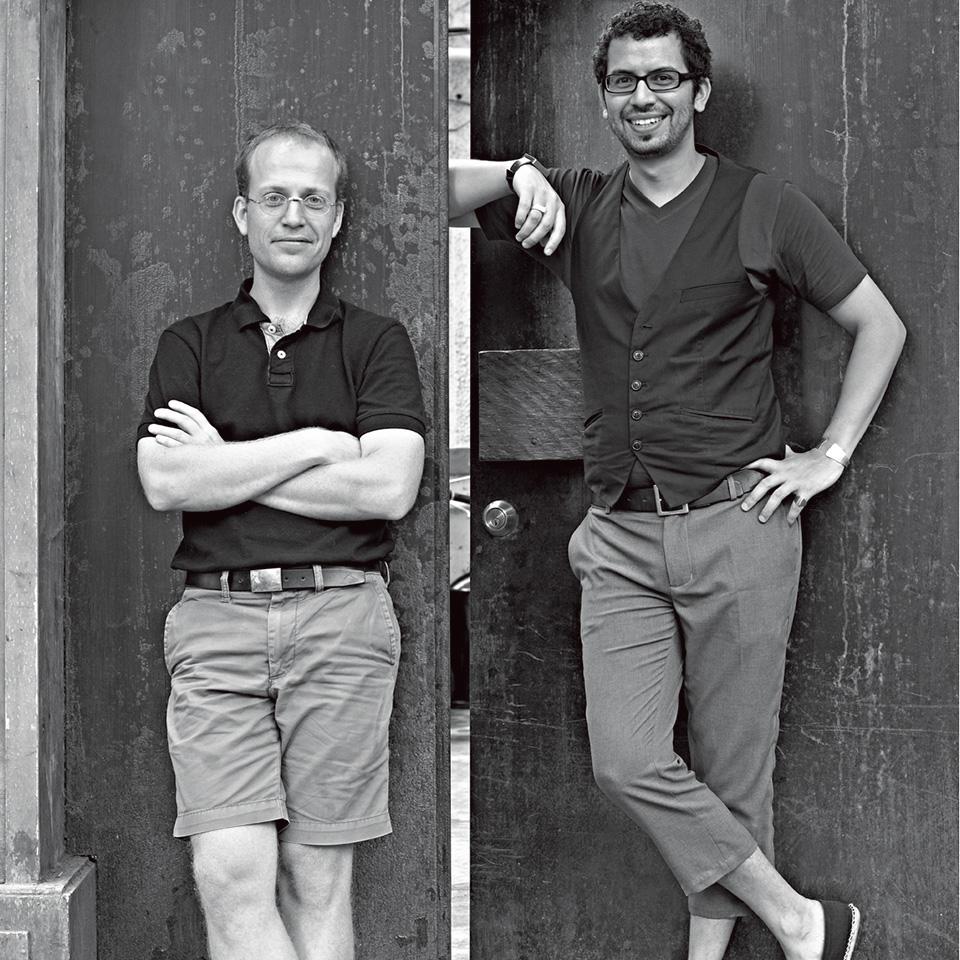 Raefer Wallis(左)Sacha Silva(右)
