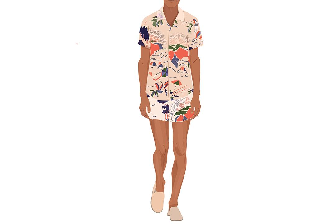 """每日穿搭 没有""""印花""""的夏天是不完整的"""