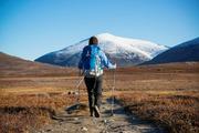 """Kungsleden,瑞典被称为""""国王小径""""的Kungsleden位于瑞典北部,是徒步旅行者必到之地。路线贯穿整个西欧..."""