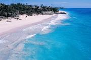 巴希巴风景区位于巴巴多斯东海岸,沿岸树木常年被强风吹袭形成向一个方向侧伏的奇特景色。因风景酷似苏格...