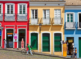 """盘点世界上最绚丽的城镇 行走在""""彩虹""""间"""