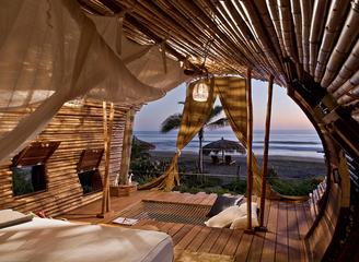 去墨西哥圆筒度假树屋吧 让你奢华环保乐享美景!